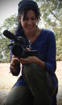 Helen Newman Filming in India